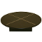 Revolving Glass Display Base - Black