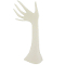 Large Polystyrene Hand Display - White Frost