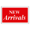 """NEW ARRIVALS"" Plastic Sign Card"