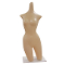 Table Top Plastic Mannequin Torso - Fleshtone