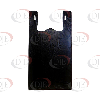 Roll Of Plastic Shopping Bags - Black